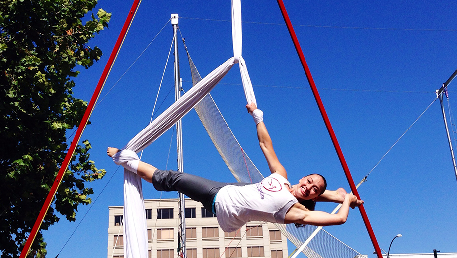Learn Acrobatic Skills With an Aerial Combo Class $20.00 ($40 value)