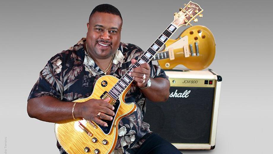 Larry McCray: Blues-Rock Singer & Guitar Hero $7.50 ($15 value)