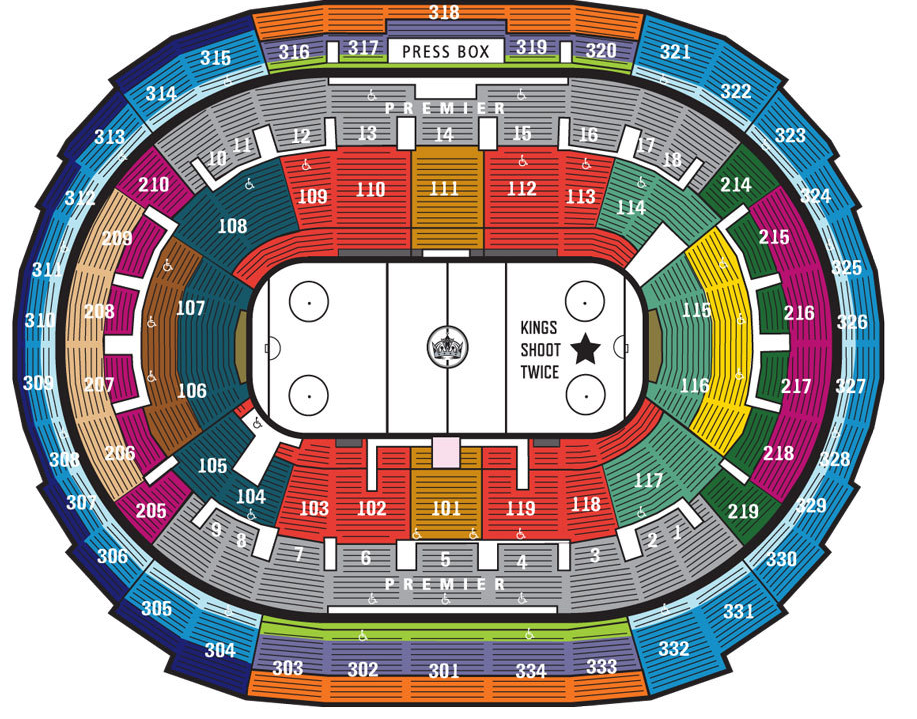 Staples center los angeles tickets schedule seating charts