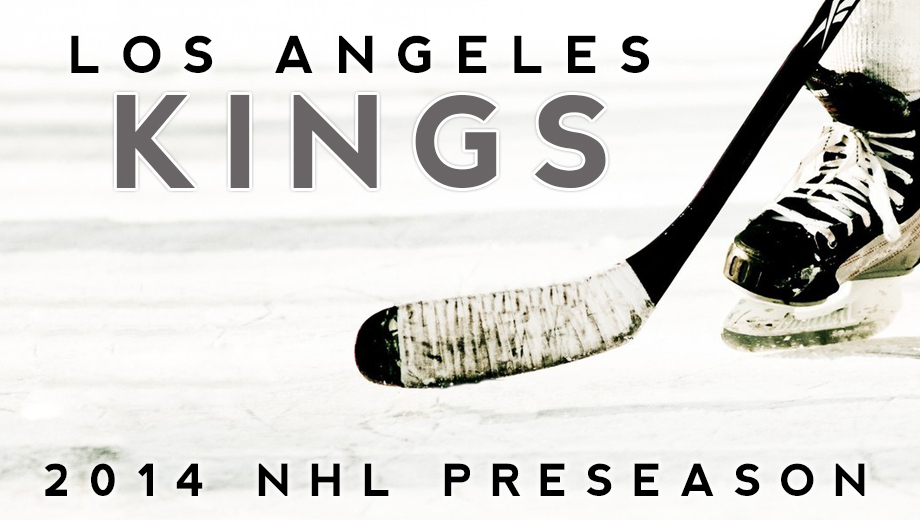 L.A. Kings 2014 Preseason: Stanley Cup Champs Back on the Ice $20.00 - $30.00 ($48.75 value)