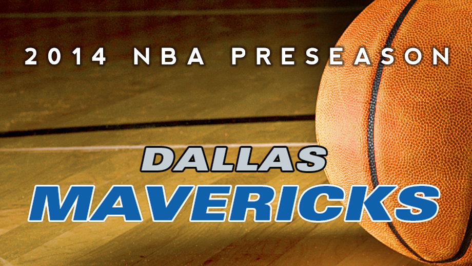 NBA's Dallas Mavericks: 2014 Preseason Basketball $23.50 ($29 value)