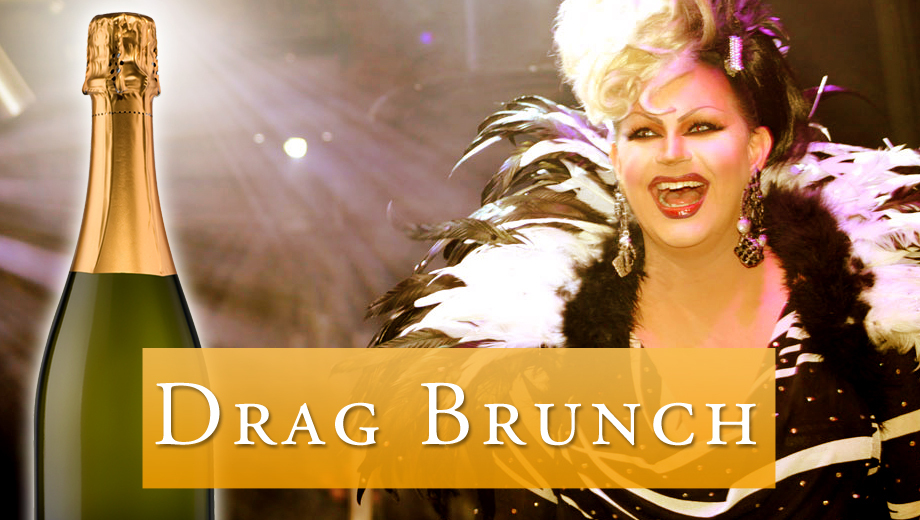 Saturday Drag Brunch: Gourmet Omelets, Bottomless Mimosas & Female Impersonators $22.00 ($35.99 value)