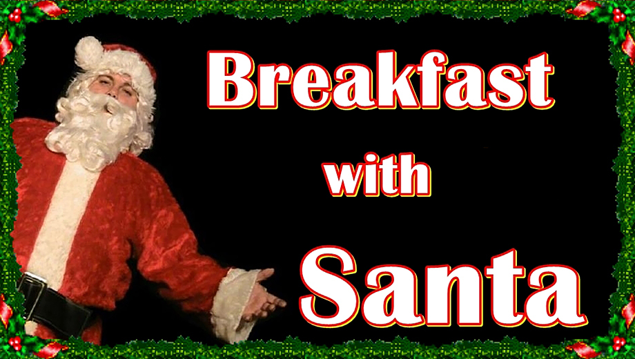 Breakfast With Santa Gives Kids Chance to Meet the Big Guy $10.00 - $20.00 ($25 value)
