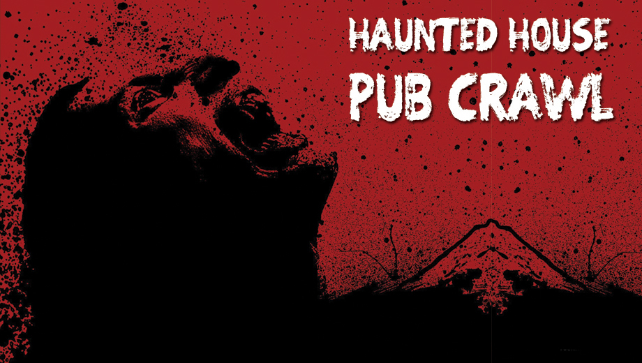 Halloween Pub Crawl & Haunted House Attractions $32.50 ($65 value)