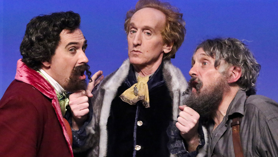 Jefferson, Dickens & Tolstoy Match Wits in Historical Comedy
