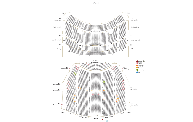 Fox theatre seating chart ibov jonathandedecker com