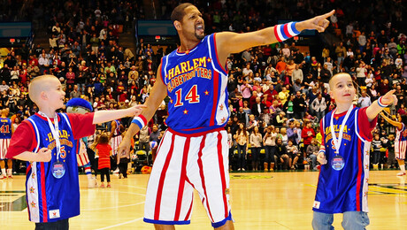 Harlem Globetrotters at STAPLES Center (Los Angeles, CA)