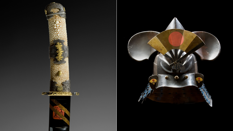 Samurai Swords, Armor & Personal Objects: Exhibit Captures the Life of a Warrior $14.00 ($25 value)