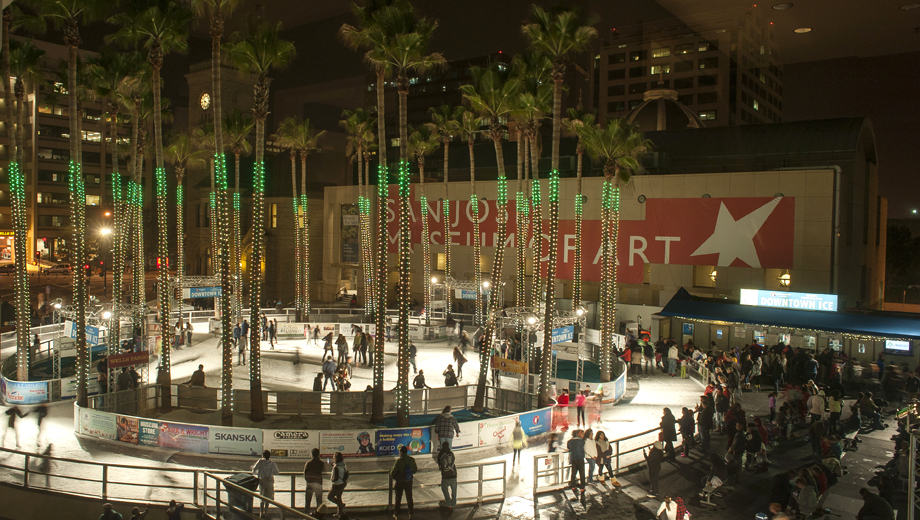 Skate Under the Stars at San Jose's Downtown Ice Skating Rink $7.50 ($15 value)