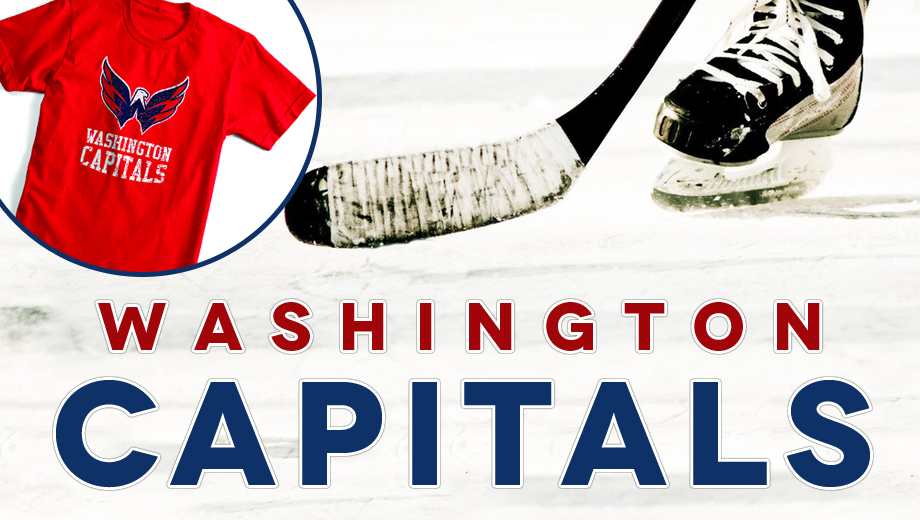 Hit the Ice With the Capitals: T-Shirt Giveaway $39.00 ($64 value)
