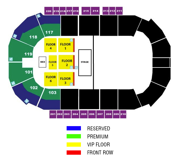 Accesso showare center kent wa tickets schedule seating charts