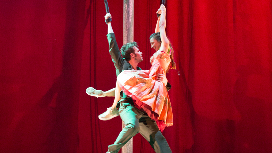 Stunning Acrobatics and High-Flying Drama in Kneehigh's