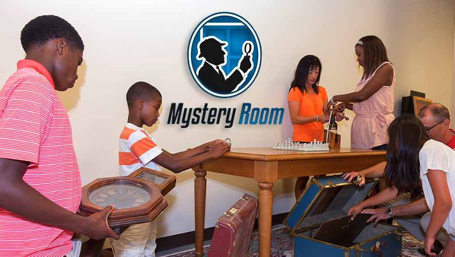 Solve the Clues and Save the Day in the Mystery Room $7.50 ($15 value)
