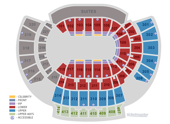 Philips arena atlanta tickets schedule seating charts goldstar