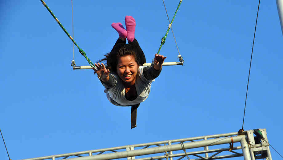 Fly Through the Air With a Beginner Trapeze Lesson $40.00 ($80 value)
