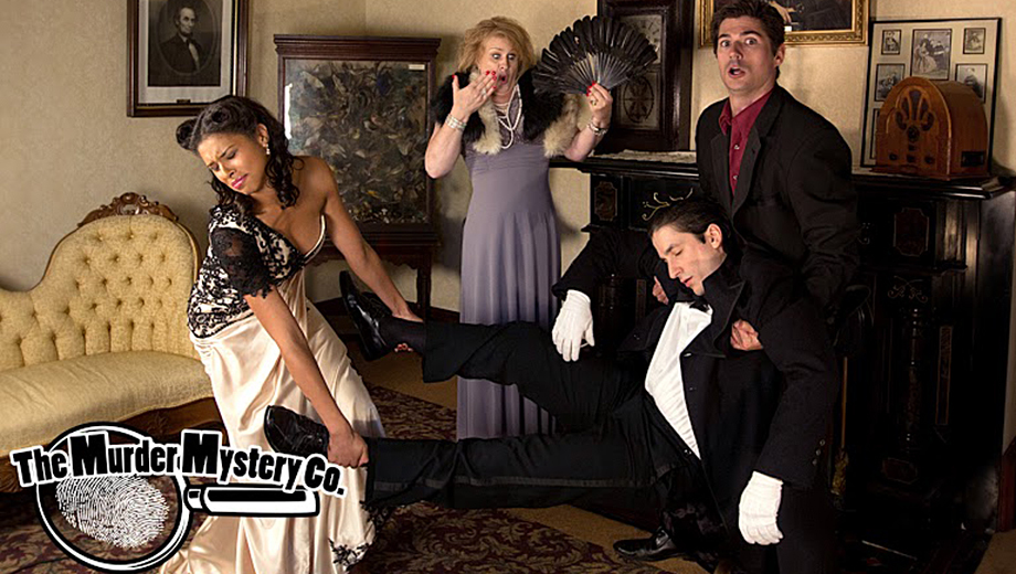 Play Detective Over a 3-Course Meal at Roaring '20s Whodunit