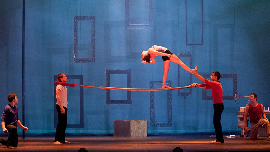 Cirque-Style Acrobatics From Canada's 7 Fingers Circus in New Show,