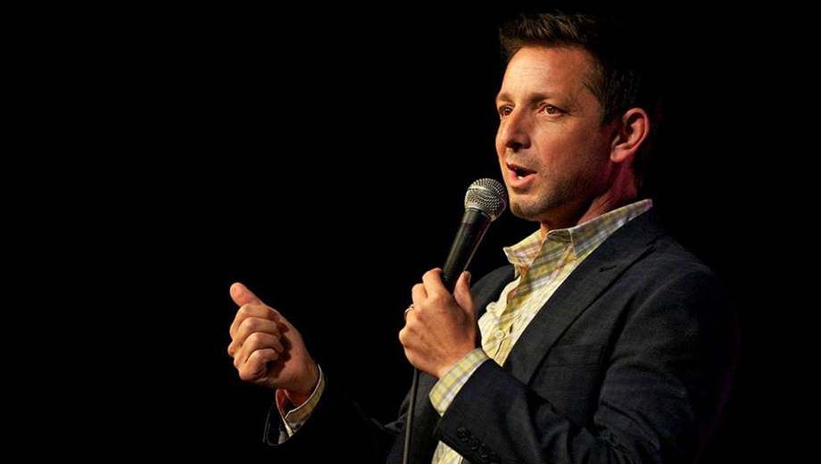 Comedian James P. Connolly at Flappers Comedy Club COMP - $10.00 ($20 value)