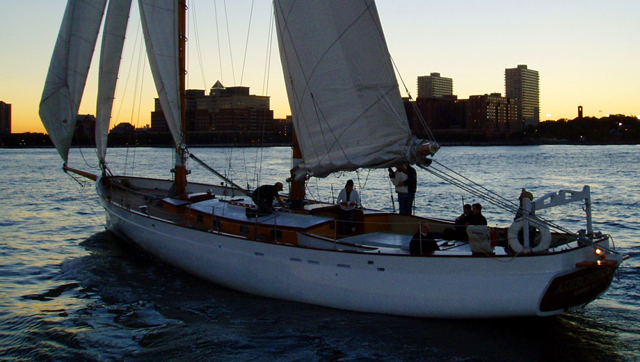 Champagne & City Lights Sail Aboard the Schooner Adirondack $32.40 ($54 value)