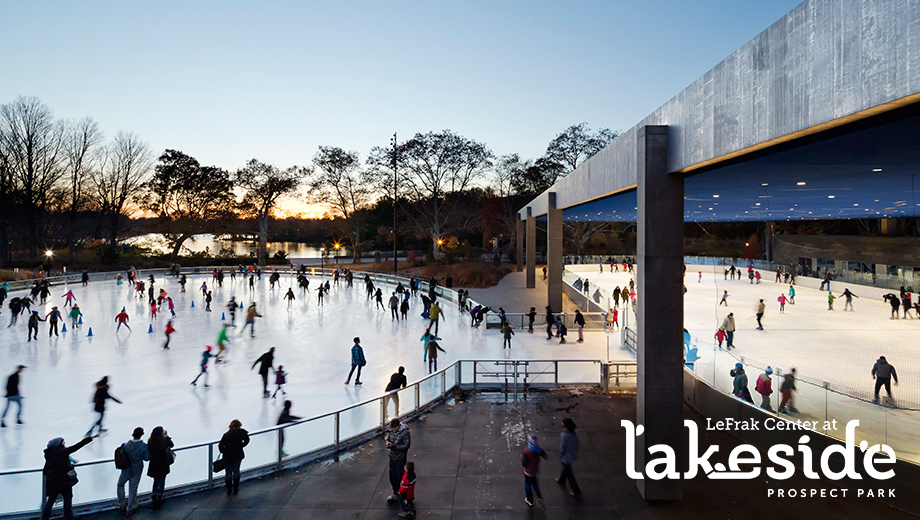 Lakeside Ice Skating in Brooklyn's Prospect Park $6.00 - $8.50 ($12 value)
