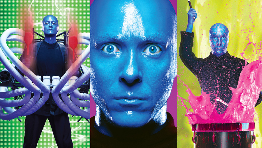 Blue Man Group: The Worldwide Hit Show Featuring ... Blue Men $25.75 - $38.75 ($38 value)