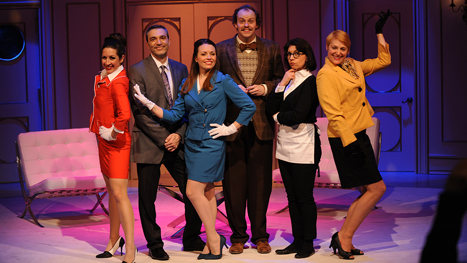 """Boeing, Boeing"": A Sexy, Funny French Farce @ CLO Cabaret 