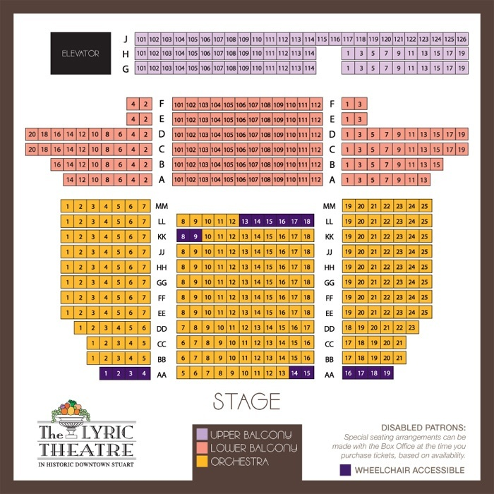Lyric theatre miami ft lauderdale tickets schedule seating