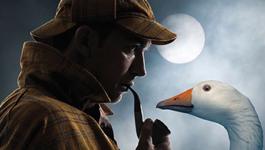 Image result for Sherlock Holmes and the Christmas Goose