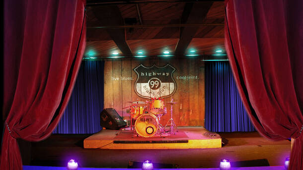 Highway 99 Blues Club And Restaurant Live Jams In A Juke Joint Setting