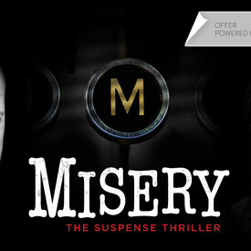 "Bruce Willis & Laurie Metcalf in ""Misery"" on Broadway"