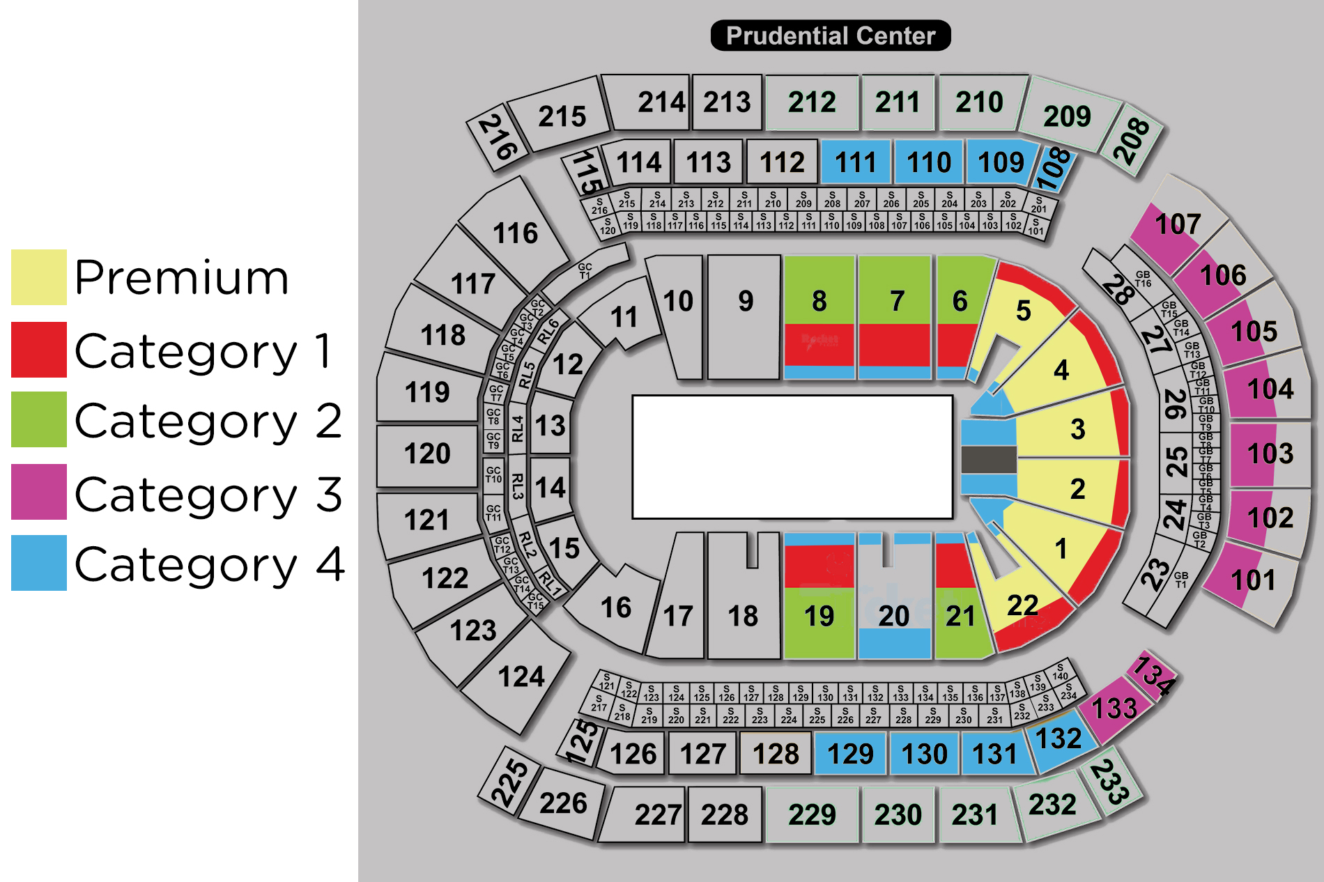 Devils 2015 16 prudential center toruk seating Toruk seating demijonas tickets