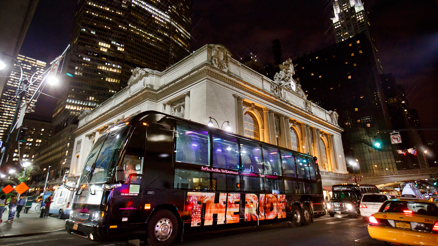"""The Ride"": An Interactive NYC Bus Tour Unlike Any Other"
