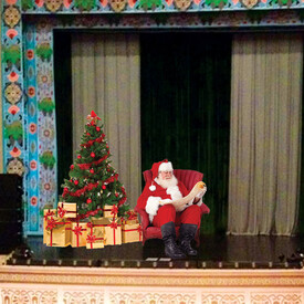 Santa at the Larcom: A Magical Experience