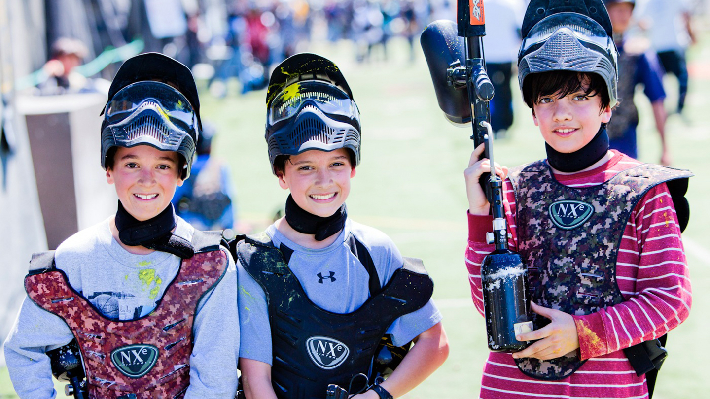 All-Day Paintball Pass: Experience the Fast-Action Fun $3.00 ($30 value)