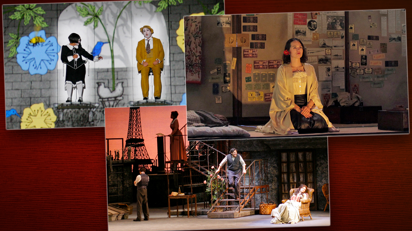 LA Opera Three Show Package: See