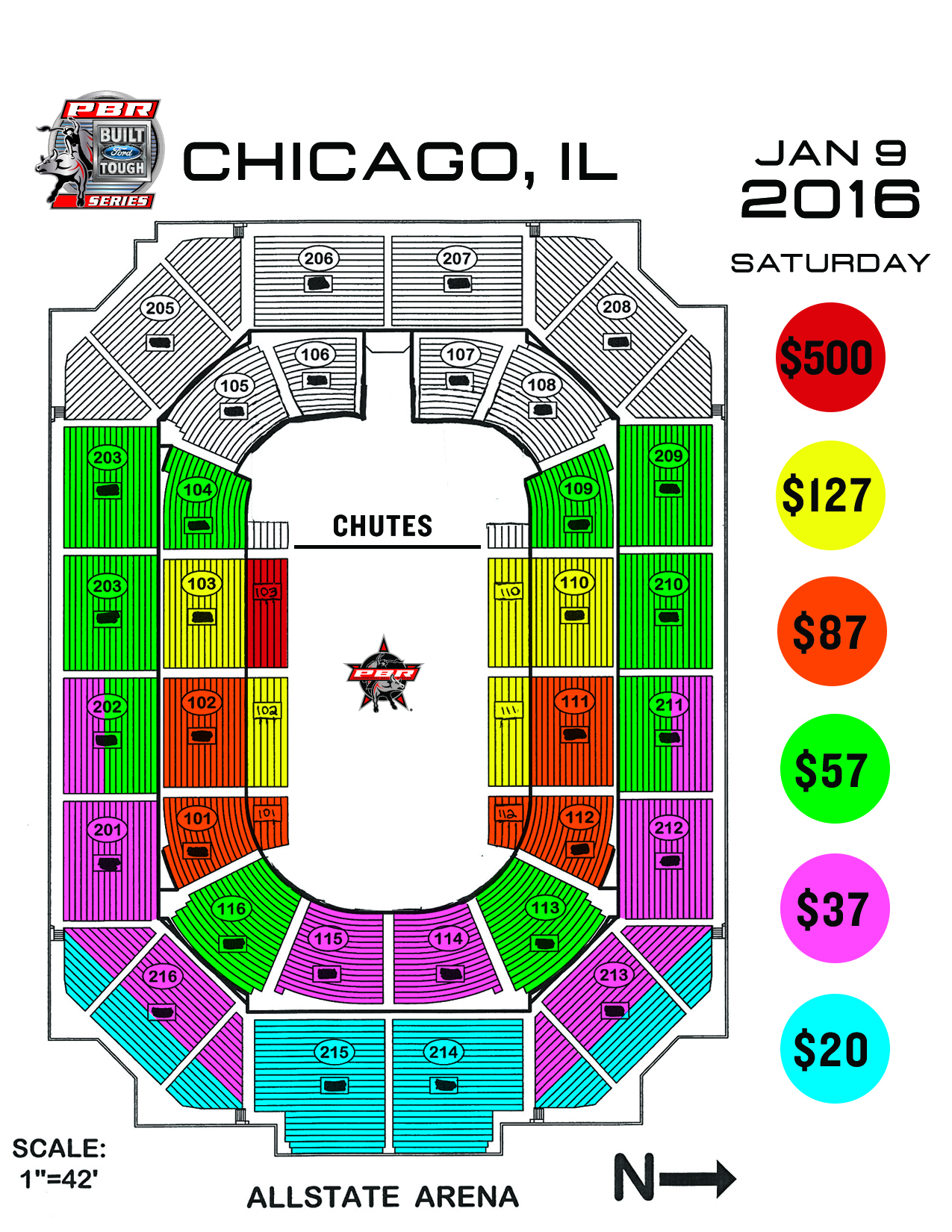 PBR 2016 ellie seating chart