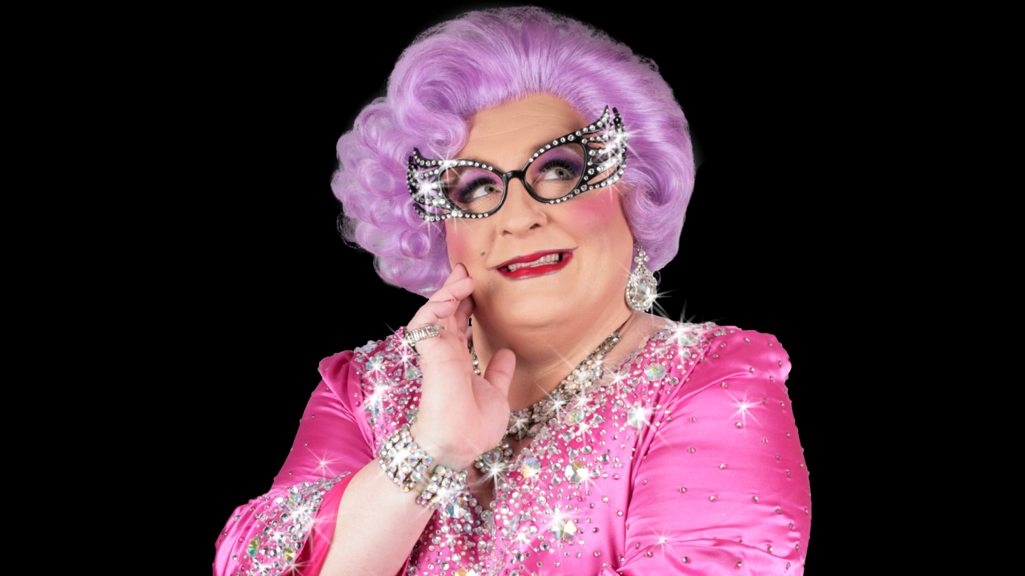 Dame Edna Musical Parody Tribute by Celebrity Impersonator Michael Walters $12.75 - $16.75 ($29.5 value)