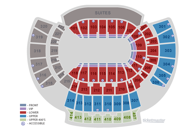 philips arena atlanta georgia seating chart - Keni.ganamas.co