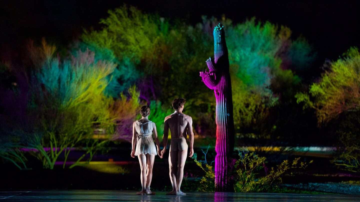 See Dance Under the Stars: Ballet Arizona at Desert Botanical Garden $15.00 - $18.00 ($36 value)