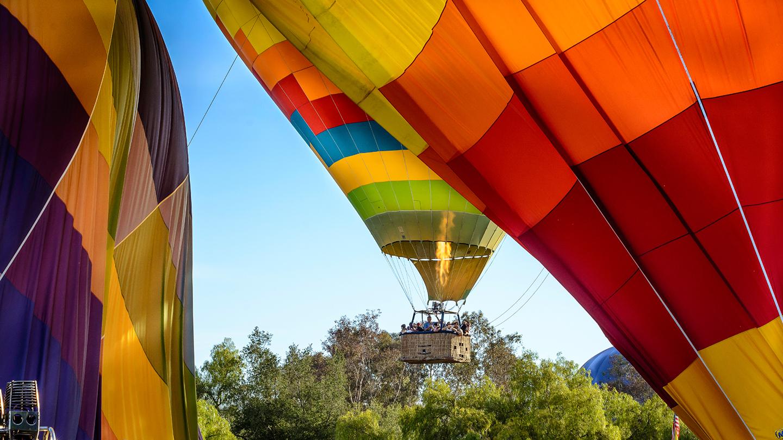 Fresno Hot Air Balloon Ca Rides