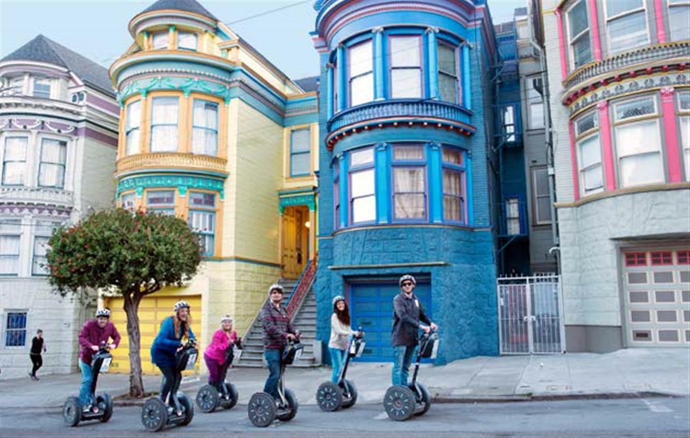 Advanced Segway Tour of The Haight and Golden Gate Park $35.00 ($70 value)