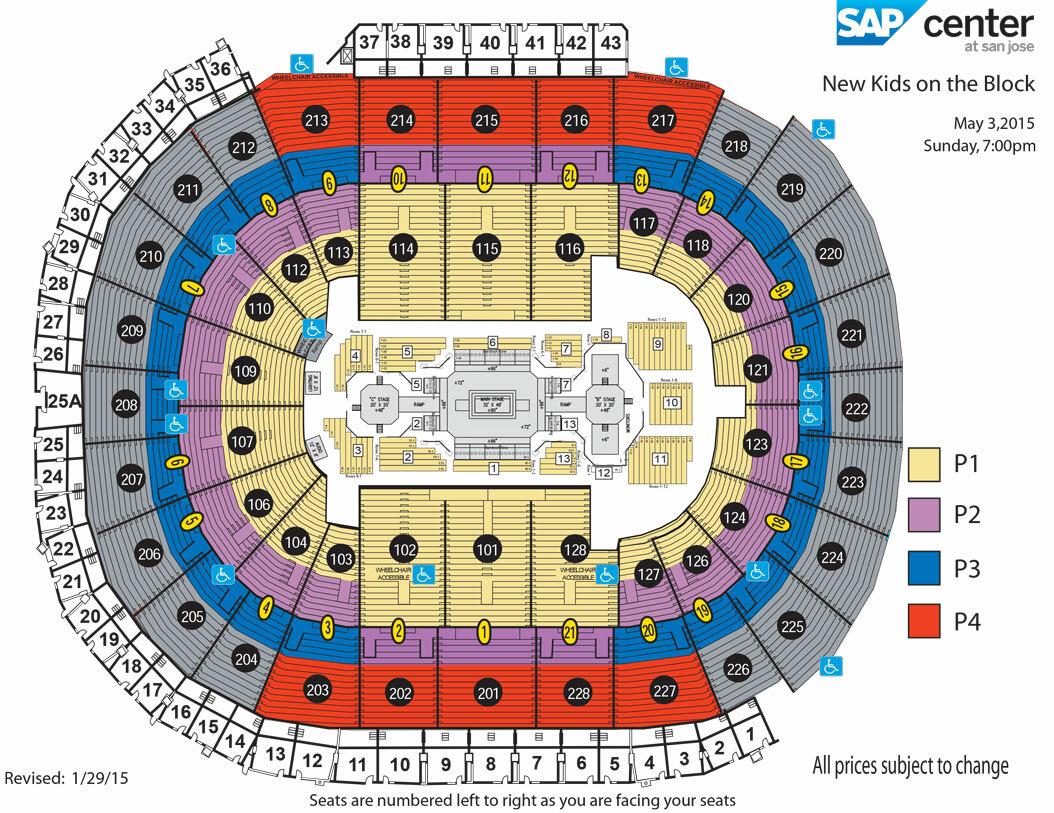 neil diamond seating chart . sap center at san jose san jose tickets schedule seating