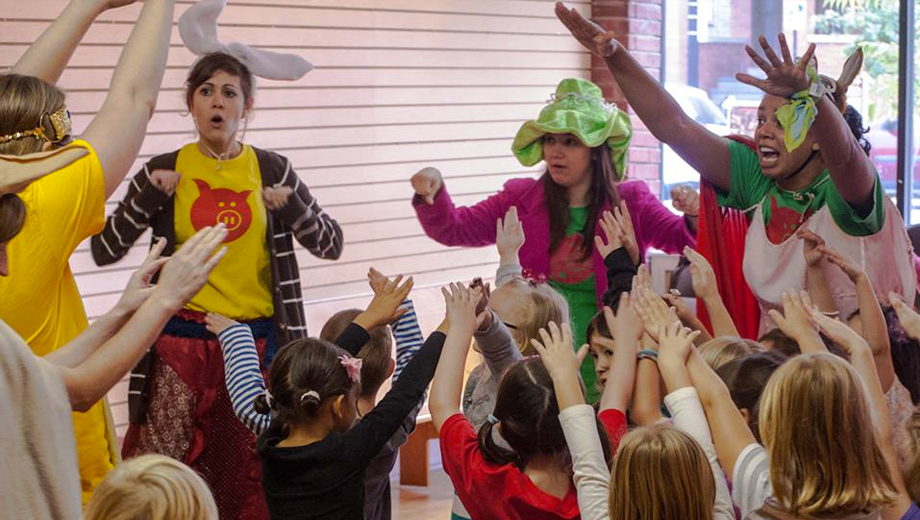 Kids Sing, Act & Create in Totally Interactive Improv Musical
