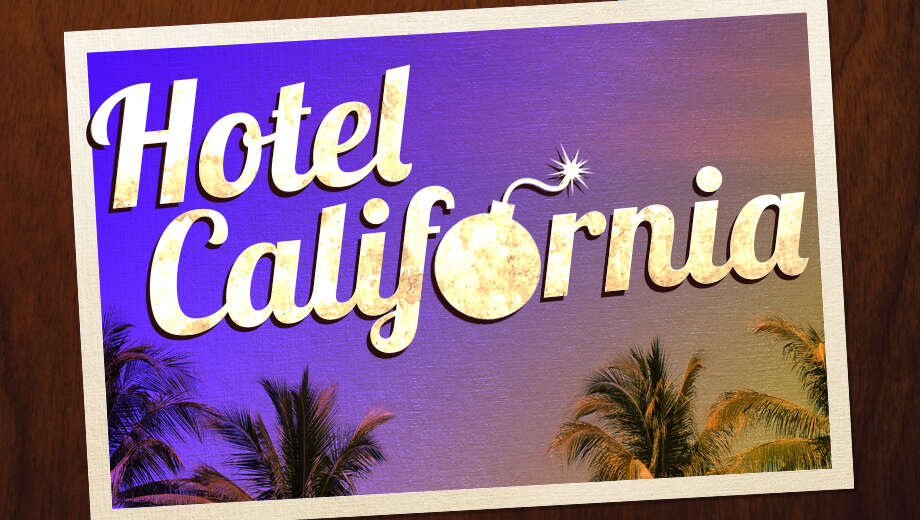 Two Men Wage War On The Hiest Place Earth In Comedy Hotel California Reviews Ratings