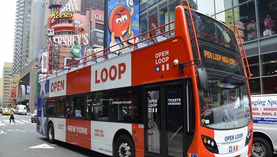 Tour the Big Apple on an NYC Open Loop Bus $12.00 - $22.00 ($19 value)