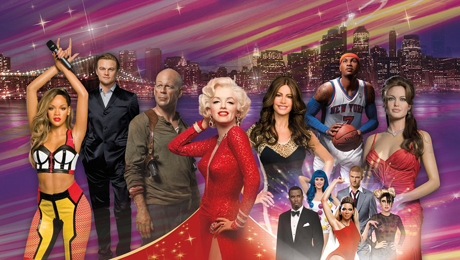 Madame Tussauds New York: Legendary Wax Figures, 4D Theater and More $19.99 - $24.99 ($32.66 value)