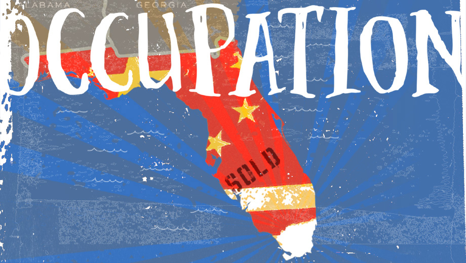 A Cash-Strapped U.S. Sells Florida to China in Dystopian Satire