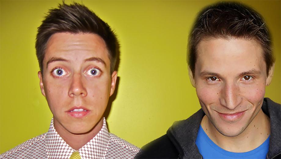 Comedians Grant Cotter (MTV) & Jonny Loquasto (
