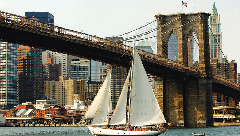 Sail NY Harbor Aboard the Historic Schooner Shearwater $27.00 ($45 value)