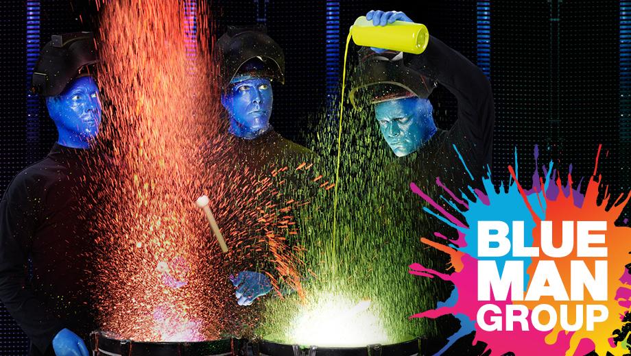 Blue Man Group: Las Vegas' Mega-Hit Show at the Monte Carlo $61.73 - $107.46 ($85.3 value)